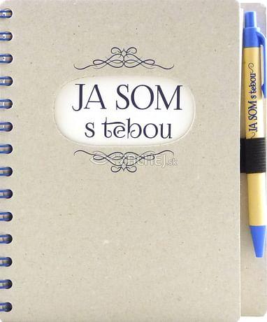 Zápisník s perom: Ja som s tebou (A5)
