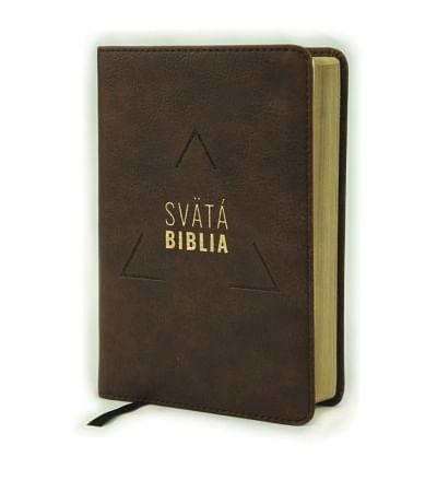 Svätá Biblia: Roháčkov preklad, vrecková - hnedá