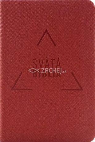 Svätá Biblia: Roháčkov preklad, vrecková - červená