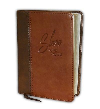 Biblia: ekumenická, vrecková - dvojfarebná, hnedá