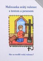 Omaľovanka svätý ruženec s textom a pexesom
