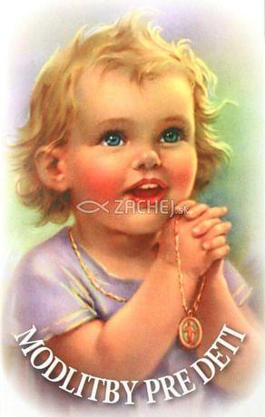Skladačka: Modlitby pre deti
