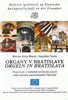 Organy v Bratislave / Orgeln in Bratislava