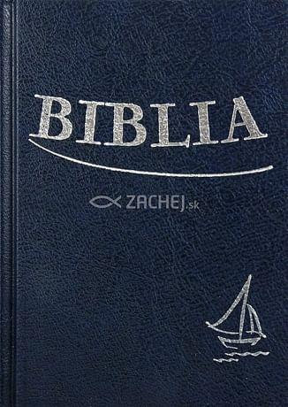 Biblia - modrá