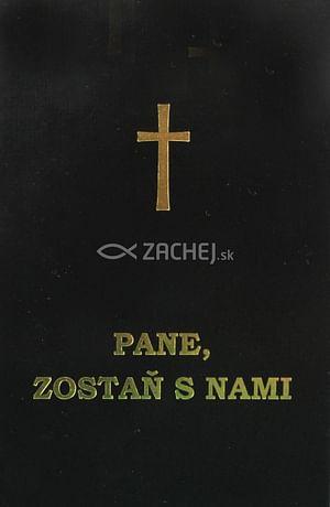 Pane, zostaň s nami (čierna obálka)