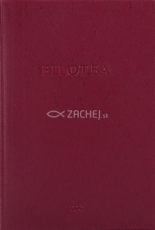 Filotea (bordová obálka)