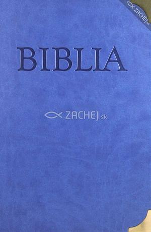 Biblia s kovovými rožkami