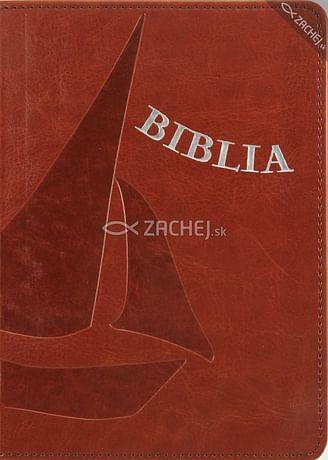 Biblia - hnedá