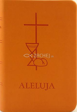 Aleluja - modlitebná kniha oranžová