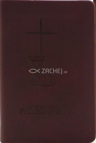 Aleluja - modlitebná kniha hnedá