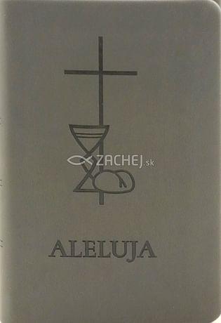 Aleluja - modlitebná kniha sivá