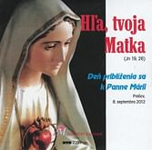 DVD: Hľa, tvoja Matka