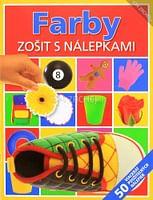 Farby - Zošit s nálepkami