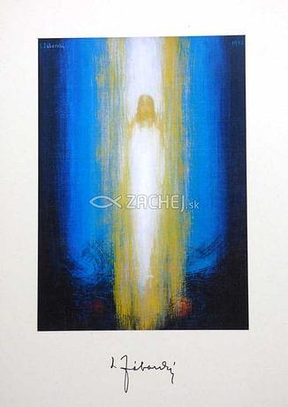 Pozdrav: Vzkriesený Kristus - bez textu (VN004)