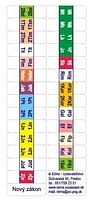Samolepky: štítky do Nového zákona - plnofarebné