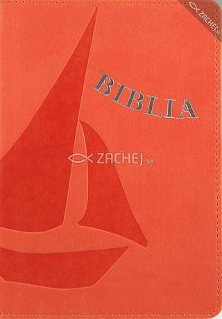 Biblia - oranžová