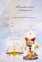 Pamätný list: Pamiatka na 1. sväté prijímanie