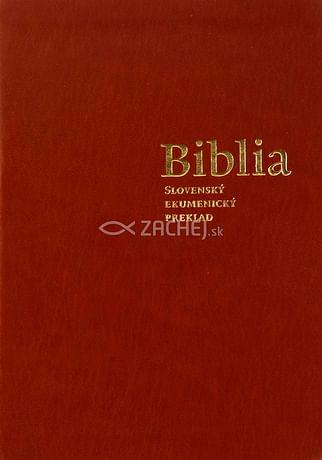 Biblia - Slovenský ekumenický preklad (bez DT kníh)