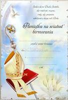 Pamätný list: Pamiatka na sviatosť birmovania (Z)