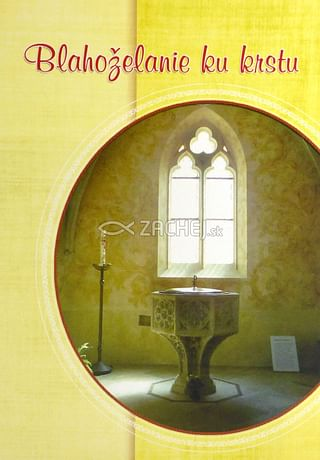 Pozdrav: Blahoželanie ku krstu - s textom