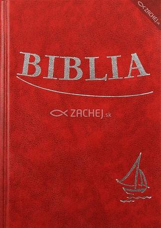 Biblia - bordová