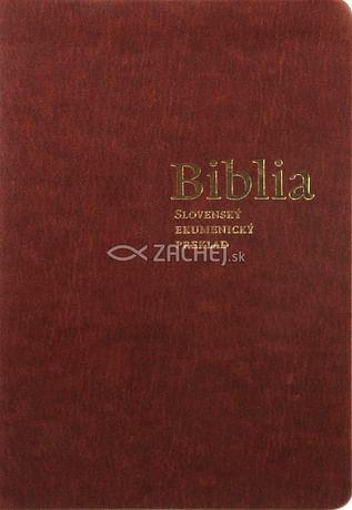 Biblia - Slovenský ekumenický preklad (s DT knihami)